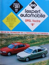 Revue technique OPEL VECTRA B ESSENCE DIESEL TURBO DIESEL EXPERT N° 351 1997