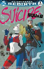 SUICIDE SQUAD VOL.4 #1 JOSH MIDDLETON LIMITED EDITION VARIANT REBIRTH DC COMICS