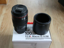 Canon f2.8 L  EF 100 mm Macro IS USM *OVP*
