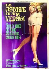 Le Astuzie di una Vedova manifesto poster Jones Young A Ticklish Affair 4F M