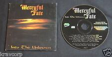 MERCYFUL FATE 'INTO THE UNKNOWN' 1996 PROMO CD