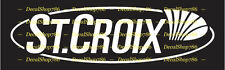 St. Croix Fishing Rods - Outdoors Sports - Vinyl Die-Cut Peel N' Stick Decal