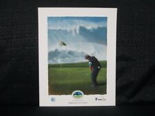 2013 Pebble Beach Pro Am Tournament Poster At & T National Pro Am