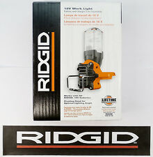 BRAND NEW RIDGID 18v 18 VOLT X3 FLUORESCENT CORDLESS WORK LIGHT FLASHLIGHT