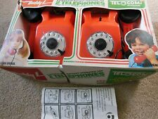 BUDDY L RARE TOY BATTERY OPERATED TELEPHONES ROOM TO ROOM WITH ORIGINAL BOX