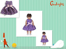 Cute mysterious party  Ballet dress clothes for 18inch American girl doll b21