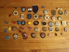45 different bowling club and association medals, mostly Scotland up to mid 1990