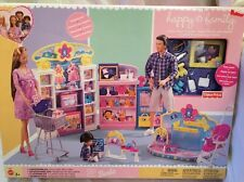 Happy Family Baby Store Barbie Playset 2002 Mattel Fisher Price RARE outfit NIB
