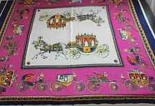 H Silk Extra Large Scarf 51X51 Inch A cheval sur mon carre 7 Options