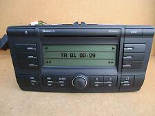 Skoda auto octavia Stream stéréo lecteur cd + code 2004-2009 1Z0035161R