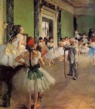 Edgar Degas Oil Painting repro The Dance Class