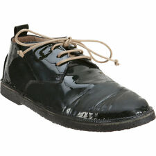 New MARSELL Distressed Patent Leather Oxfords Boots Barneys EUR 38 $750