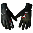 Waterproof Men's Warm Winter Sports Cycling Bike Bicycle Full Finger Gloves M-XL