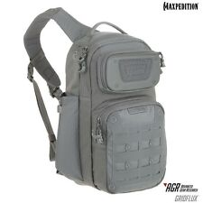 Maxpedition MXGRFGRY GRIDFLUX Sling Pack, Gray
