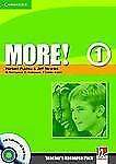 More! Level 1 Teacher's Resource Pack with Testbuilder CD-ROM/Audio CD, Penn, Ju
