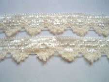 Fabric Lace Trim IVORY 5 YD - CLEARANCE!!!!!