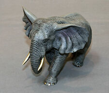 ***Awesome Bronze Bull Elephant Figurine Sculpture Statue Limited Edition Signed