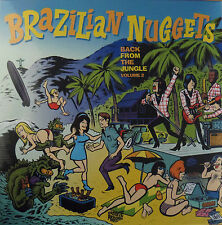 Brazilian Nuggets - Back From the Jungle volume 2 LP Groovie Records Pebbles