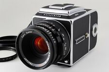 TOP MINT! RARE! Hasselblad 501CM + Planar 80/2.8 T* A12 IV Back From JAPAN #0835