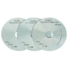 "3 PC 2"" CIRCULAR PRECISION SAW BLADES FOR MINI CHOP CUT-OFF SAW"