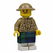 WW1 Scottish soldier made using custom printed Lego parts