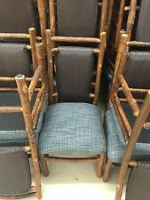 Old Hickory Furniture Original Dining Chair Blue Wilderness Lodge Disney Prop
