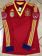 Spain Football Adidas Soccer España Formotion Shirt (6)Player Issue Jersey Match