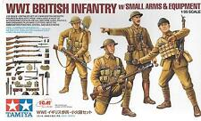 Tamiya WWI British Infantry w/ Small Arms and Equipment in 1/35 32409  ST