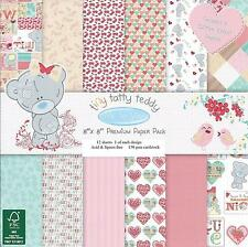 ME TO YOU TINY TATTY TEDDY PREMIUM PAPER 8 X 8 SAMPLE PACK  12 SHEETS