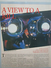 5/1991 ARTICLE 4 PAGES ADVANCED HELMET TECHNOLOGY SEXTANT ALPHA HELMET GEC ELBIT