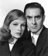 Hildegard Knef and Tyrone Power, Jr. UNSIGNED photo - H4540 - Diplomatic Courier