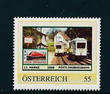 11.person.Marke des  BSV-Linzer Eisenbahn-Verein, Pöstlingbergbahn, Zug, 1/5/15