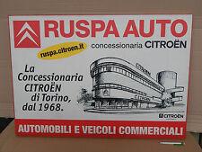 INSEGNA CITROEN AUTO SIGN OLD TORINO DS CX GS ID