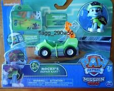 *Paw Patrol* 2017 ROCKY'S REPAIR KART with MISSION PAW ROCKY FIGURE