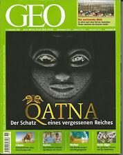 Geo November 2009 - Qatna Der Schatz eines vergessenen Reiches