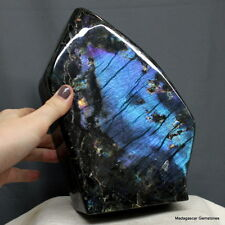 "8"" Marvelous Purple Flash Full Spectrolite Labradorite Freeform, Lbt873"