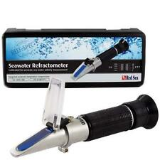 SEAWATER REFRACTOMETER AQUARIUM SALINITY SALTWATER TESTING HYDROMETER - RED SEA