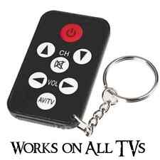Small Pocket Universal TV Remote for HD Flat Screen 4K Ultra LED LCD Television