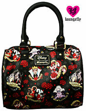 Disney Villains Purse Pebble Duffle Handbag Loungefly NEW RELEASE FALL 2016