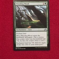MTG Weirding Wood Shadows over Innistrad Magic the Gathering Uncommon Green Card