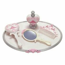 New Disney Princess & Me Royal Vanity Set Kids Girl Pretend Play Makeup Toy Gift