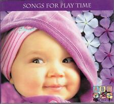 SONGS FOR PLAYTIME CD - ABC For Babies - Sean O'Boyle