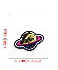 DIY 1PCS Embroidered Sew Iron On Patches Badge Fabric Applique Clothes XK92