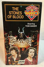 Doctor Who - The Stones of Blood (VHS, 1998) Tom Baker