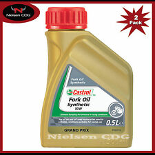 Castrol 10w Fork Oil Synthetic - 2x500ml = 1L
