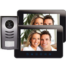 "Grand DUO Video Door Phone System 10"" monitors, compatible with up to 2 x CCTV"