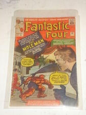 FANTASTIC FOUR #22 G- (1.8) MOLE MAN JANUARY 1964 JACK KIRBY*