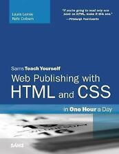 Sams Teach Yourself Web Publishing with HTML and CSS in One Hour a Day (5th Edit