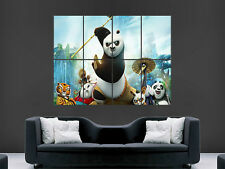 KUNG FU PANDA 3 MOVIE POSTER WALL ART PRINT IMAGE GIANT CINEMA FILM KIDS ANIME