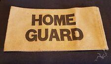 """Genuine WW2 Home Front """"HOME GUARD"""" ARMBAND / ARMLET -  ORIGINAL"""